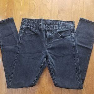 Bullhead Denim Co Black Stacked Skinny Jeans 31×32